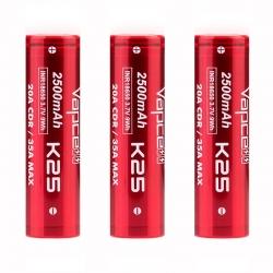 Vapcell K25 18650 Battery...